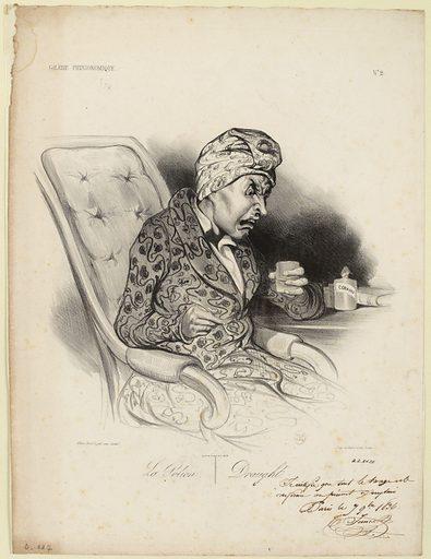 La potion. Draught. Date de création: 1836–1837. Numéro d'object: CARG002052.
