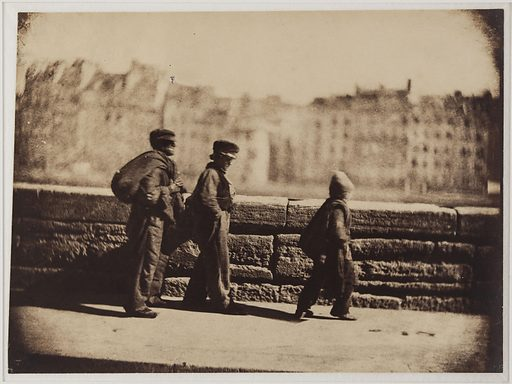 Chimney sweeps on the march, Paris
