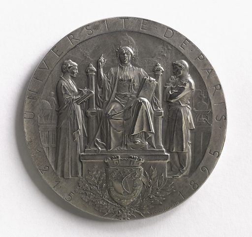 680e anniversaire de l'université de Paris, 1215–1895, 1895. Date de création: 1897–1903. Numéro d'object: CARND03490.