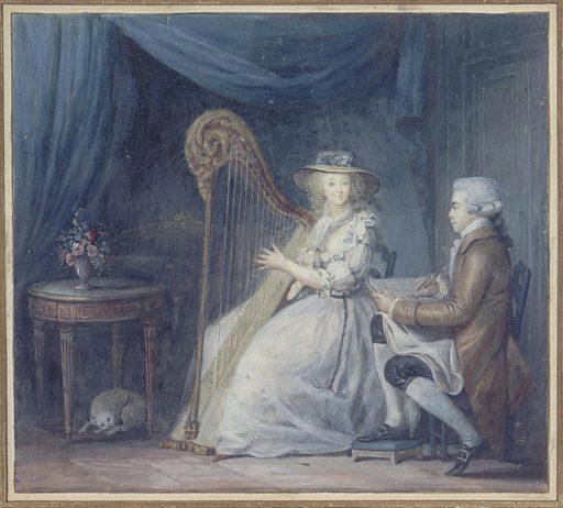 The Beautiful Harpist