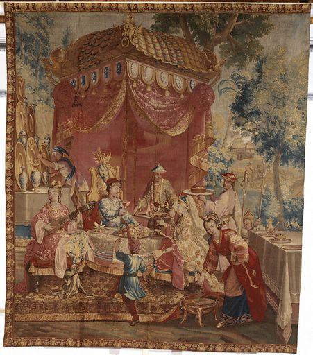 La collation. Date de création: 1685–1690. Numéro d'object: PPO03629.