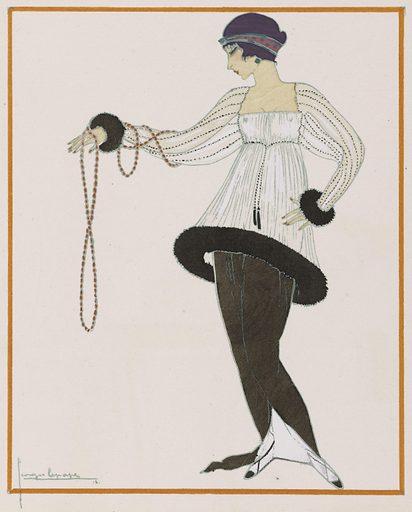 Gazette du bon ton, art, fashions and frivolities