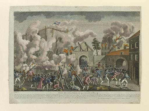 Storming of the Bastille on 14 July 1789