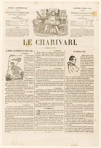 M de Balzac à Metz. Date de création: 1846. Numéro d'object: BAL0304.