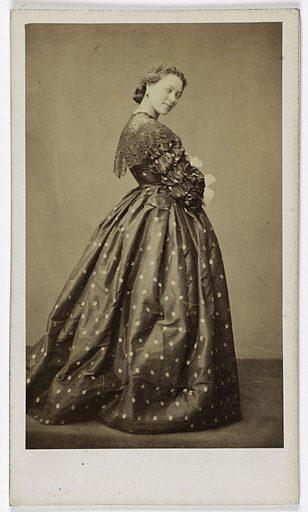 Portrait de Dubouchet (dite Plunkett) (actrice au théâtre du Palais Royal). Date de création: 1858. Numéro d'object: CARPH049774.