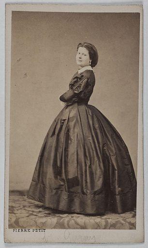 Portrait de Wanda de la Grande Duchesse (Emilie Garait, dite) (1842–1905) (actrice). Date de création: 1860–1890. Numéro d'object: CARPH050919.