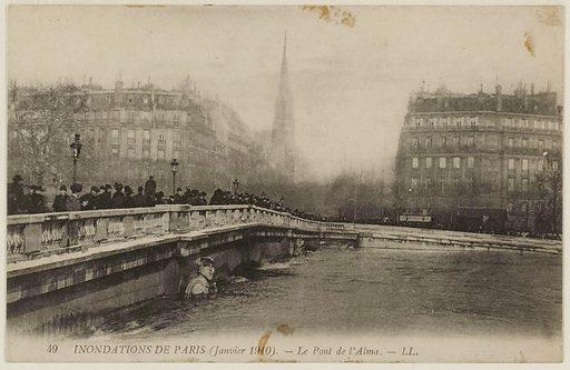 49 Paris Floods – The Pont de l'Alma