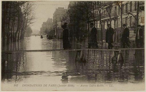 143 Paris floods – Avenue Ledru-Rollin