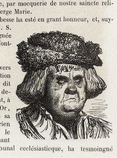 Ioseph, dict Leschalopier. Date de création: 1855. Numéro d'object: BAL2015.6.1.291.