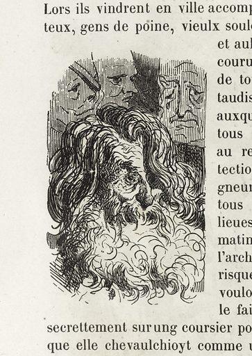 Souffreteux, gens de poine. Date de création: 1855. Numéro d'object: BAL2015.6.1.308.