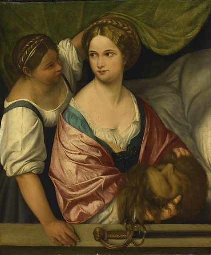 Judith with the Head of Holofernes. Date: 1500 – 1539. Object ID: SK-A-3415.