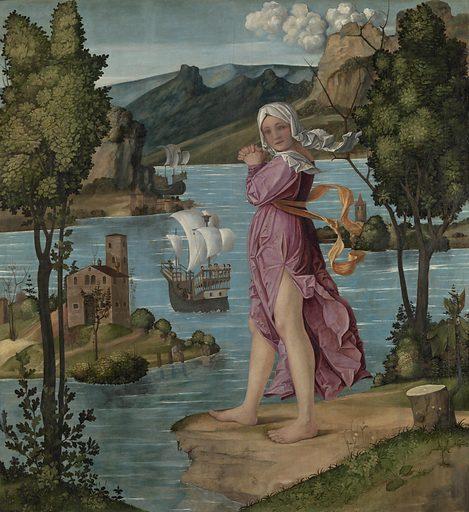 Ariadne on Naxos. Date: 1510 – 1530. Object ID: SK-A-3967.