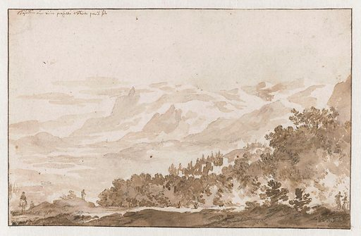 Tusculum (Frascati) from the Southwest. Date: 1648 – 1671. Object ID: RP-T-1898-A-3600.