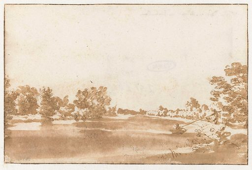View of the Rhine. Date: 1648 – 1671. Object ID: RP-T-1897-A-3343.