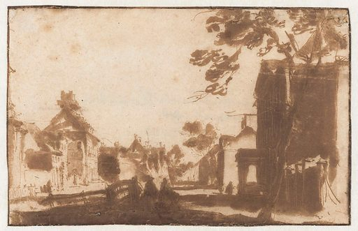 Korte Voorhout in The Hague. Date: 1648 – 1671. Object ID: RP-T-1898-A-3730.