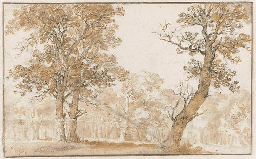 Haagse Bos. Date: 1652. Object ID: RP-T-1884-A-393.