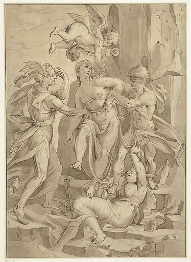 Virtue contrary to Ignorance, Error and Bias. Date: 1585 – 1595. Object ID: RP-T-1992-7.
