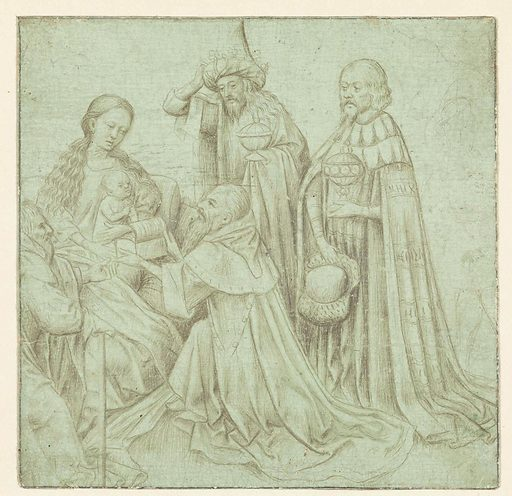 The Adoration of the Magi. Date: c 1430 – c 1440. Object ID: RP-T-00-576.