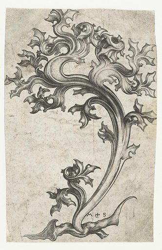 blade ornament (thistle). Origin: Germany. Date: 1470 – 1490. Object ID: RP-P-OB-1078.