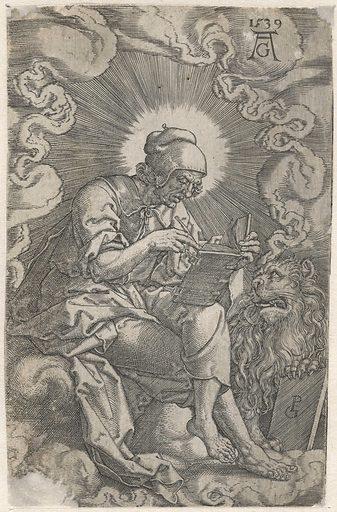 Marcus. Origin: Germany. Date: 1539. Object ID: RP-P-OB-11.104.
