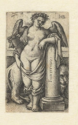 Strength (Fortitudo). Date: 1539. Object ID: RP-P-OB-10.849.