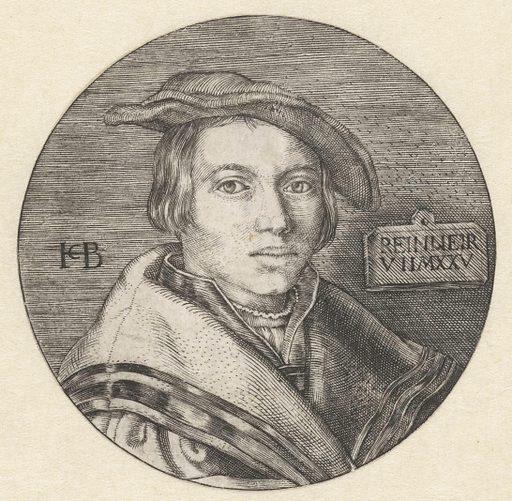 Portrait of boy with beret