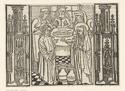 Wedding at Cana. Origin: Low Countries. Date: 1503. Object ID: RP-P-OB-2026.