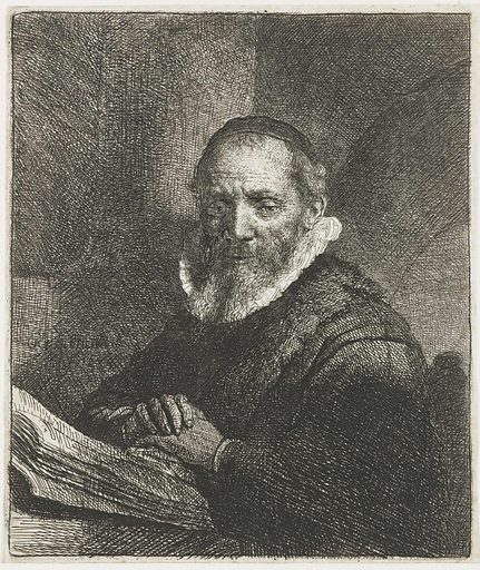Jan Cornelis Sylvius. Date: 1633. Object ID: RP-P-OB-517.