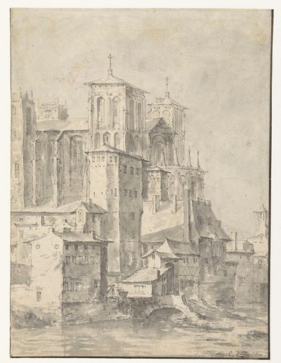 Lyon Cathedral. Date: 1632 – 1678. Object ID: RP-T-1971-53.