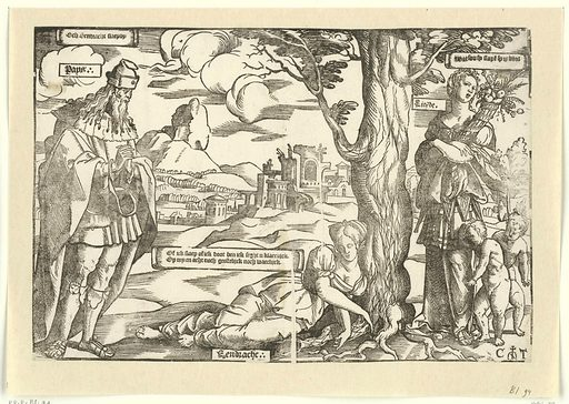 Allegory with Unity, Peace and Love. Origin: Low Countries. Date: c 1539 – 1553. Object ID: RP-P-BI-94.
