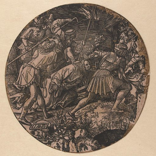 Capture of Christ. Origin: Low Countries. Date: in or after 1517 – 1533. Object ID: RP-P-BI-6261.