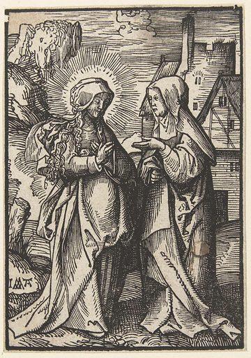 Visitation. Origin: Low Countries. Date: 1520 – 1521. Object ID: RP-P-BI-6284.