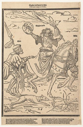 The own will. Origin: Low Countries. Date: 1520 – 1560. Object ID: RP-P-BI-108.