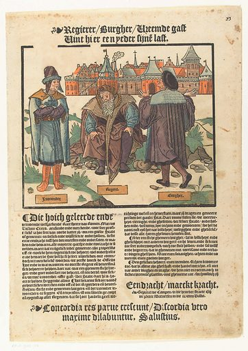 Unity is strength. Origin: Low Countries. Date: 1540 – 1567. Object ID: RP-P-1932-134.