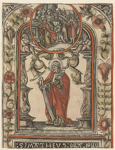 The Apostle Matthew and His Martyrdom. Date: 1510 – 1530. Object ID: RP-P-1938-1883.