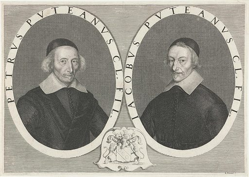 Portrait of Pierre and Jacques Dupuy. Origin: France. Date: 1648 – 1649. Object ID: RP-P-OB-5659.