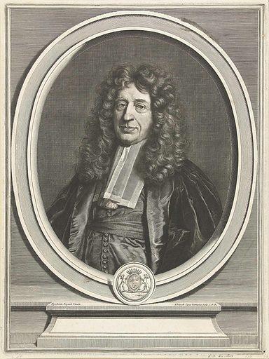 Portrait of Gédéon Berbier du Metz. Origin: Paris. Date: 1698 – 1707. Object ID: RP-P-BI-7495.