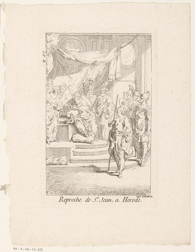 John the Baptist for Herod. Origin: Paris. Date: 1705 – in or before 1732. Object ID: RP-P-OB-43.666.