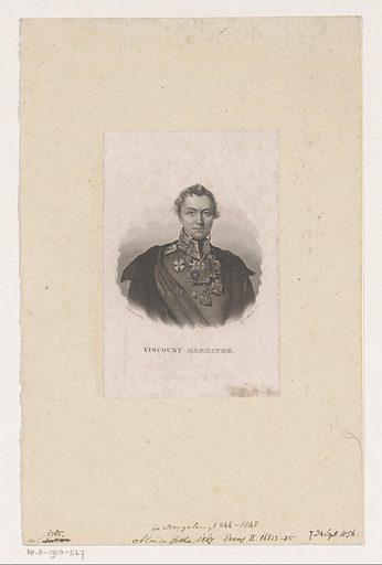 Portrait of Henry Hardinge. Date: 1847. Object ID: RP-P-1910-1127.