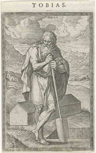 Tobias. Origin: Antwerp. Date: 1577. Object ID: RP-P-OB-5473.