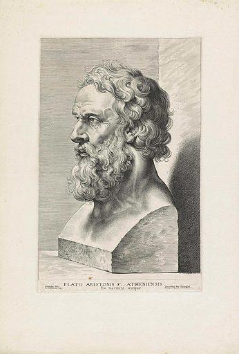 Plato bust. Origin: Antwerp. Date: 1630 – 1638. Object ID: RP-P-OB-33.061.