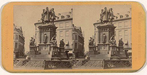 Monument to Gutenberg after Eduard Schmidt von der Launitz in Frankfurt am Main