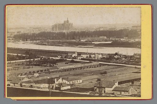 View of Metz. Date: 1870 – 1900. Object ID: RP-F-F19831.
