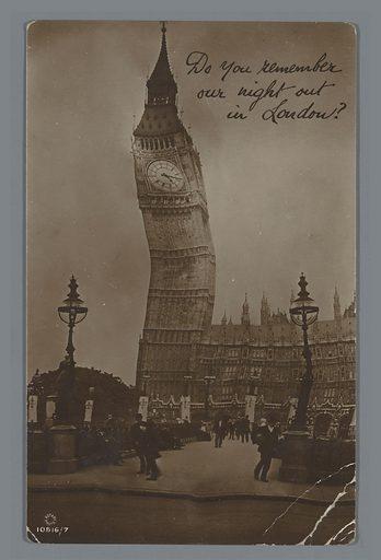 View of Big Ben in London
