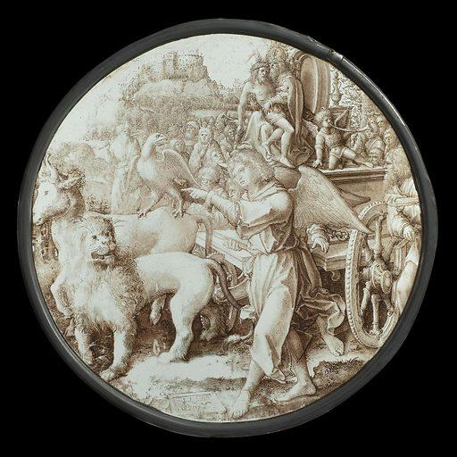 The Triumph of Eternity. Origin: Antwerp. Date: 1517. Object ID: BK-1966-58.