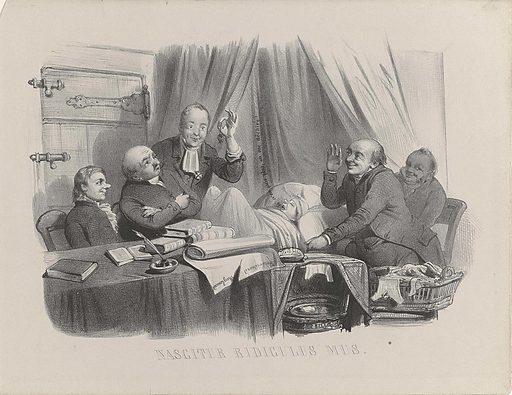 Birth of the draft regulations, 1849. Origin: Netherlands. Date: 1849. Object ID: RP-P-1911-353.