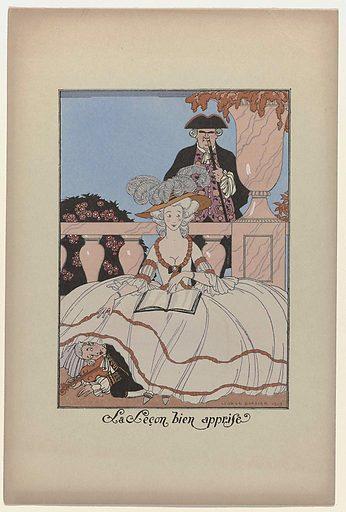 La Guirlande des mois, 1919: La Leçon bien apprise.