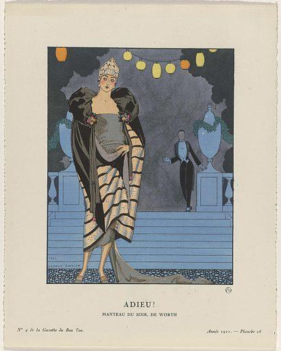 Gazette du Bon Ton. Art – Modes & Frivolités: Evening Attire.