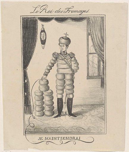 King Cheese, 1830