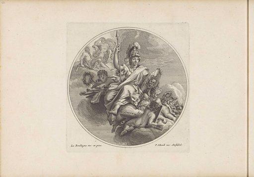 Minerva. Origin: Amsterdam. Date: 1693. Object ID: BI-1904-39-22.